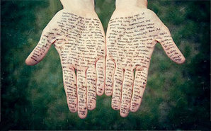 writing-on-hands