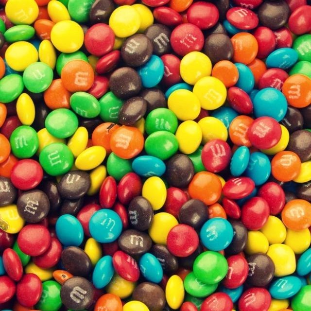 Mini Assorted Rainbow M&M's Milk Chocolate Candy